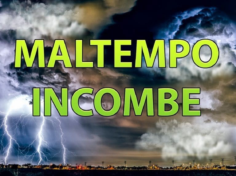 METEO: Nuova ondata di MALTEMPO in arrivo al centro-sud..