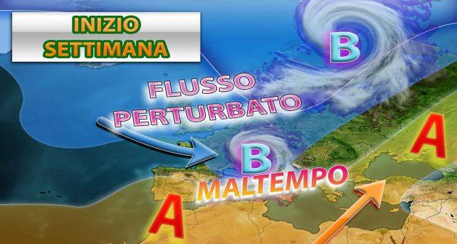 METEO - SETTIMANA INVERNALE alle porte con NEVE anche a BASSA QUOTA in ITALIA, i dettagli