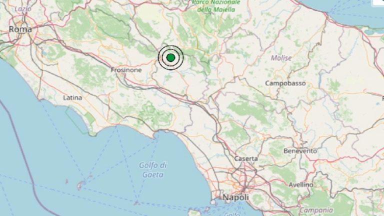 Terremoto nel Lazio oggi, martedì 13 aprile 2021: scossa M 2.6 in provincia di Frosinone – Dati INGV