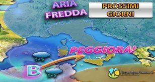 Previsioni meteo per la città di Genova