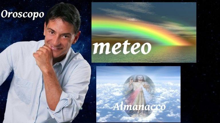 Almanacco del giorno, Sant'Atanasio, meteo e Oroscopo Paolo Fox classifica oggi, domenica 2 maggio 2021