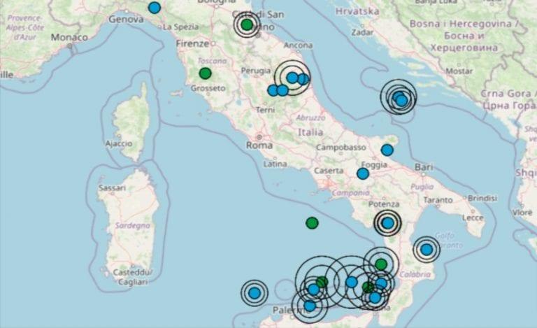 Terremoto oggi Italia, 3 maggio 2021: le ultime scosse registrate – Dati INGV