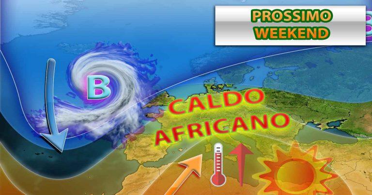 METEO ITALIA: arriva altra PIOGGIA, ma per il secondo WEEKEND di maggio sole e CALDO