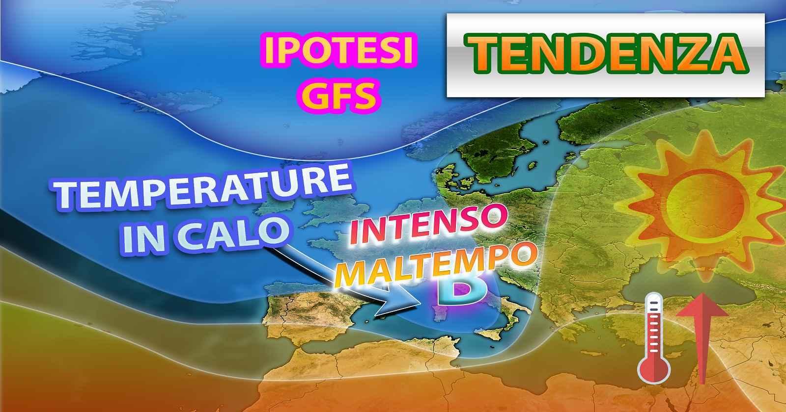 METEO - Improvviso ATTACCO di MALTEMPO con possibili NUBIFRAGI in ITALIA, ecco quando e dove