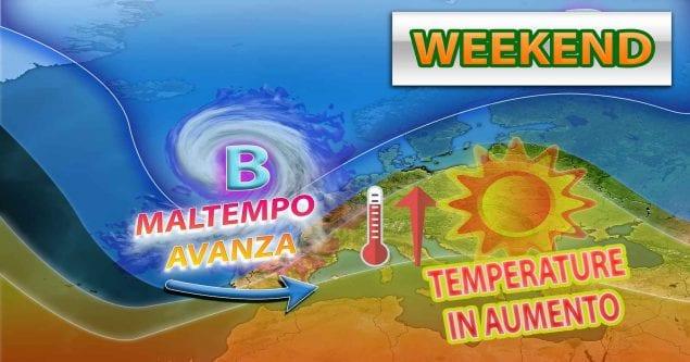METEO - Anticipo d'ESTATE nel WEEKEND con SUPER ANTICICLONE e aumento delle TEMPERATURE, i dettagli
