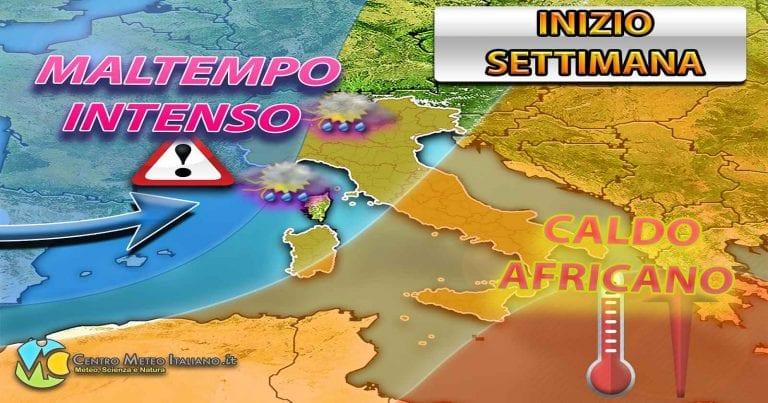 METEO – PRIMAVERA KO, il MALTEMPO schianta l'ITALIA con possibili NUBIFRAGI nella PROSSIMA SETTIMANA