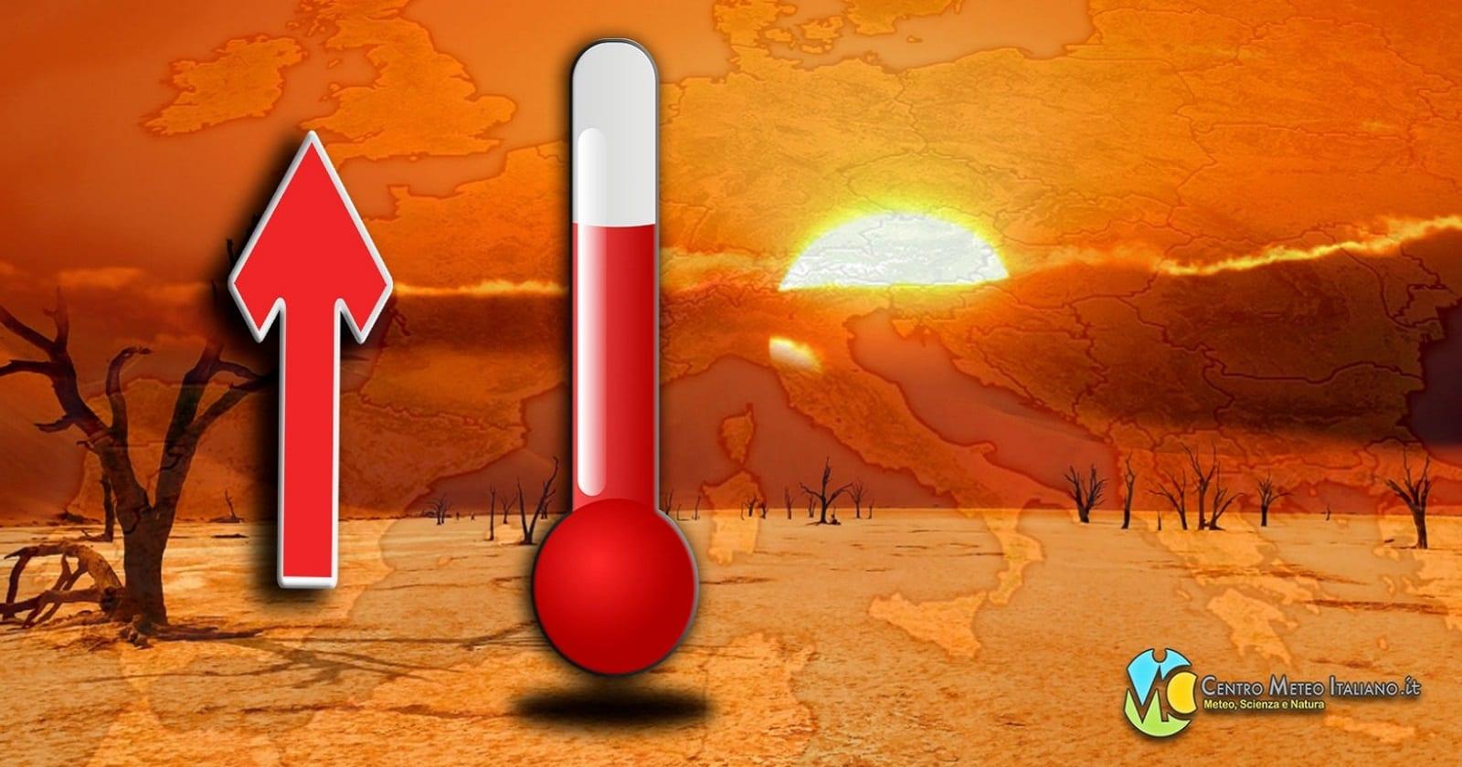 Temperature in aumento solo nell'ultima decade di maggio