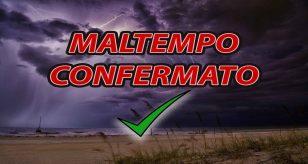 Peggioramento meteo confermato, piogge fino al weekend