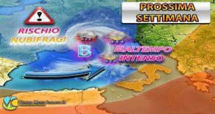 Dalla prossima settimana forte maltempo in arrivo in Italia - Centro Meteo Italiano