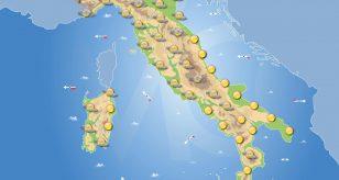 Previsioni meteo per domani 9 maggio 2021 a cura del Centro Meteo Italiano