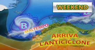 METEO – SUPER ANTICICLONE abbraccia l'ITALIA e porta tempo più STABILE e con TEMPERATURE in aumento