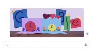 Festa della Mamma 2021, Doodle Google
