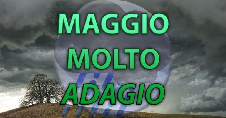 METEO – Settimana ALTALENANTE in ITALIA, con l'eterna lotta tra ANTICICLONE e PERTURBAZIONI atlantiche, chi la spunterà a MAGGIO?