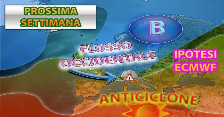 METEO ITALIA: tra risalita calda africana e correnti fresche atlantiche, ecco la tendenza