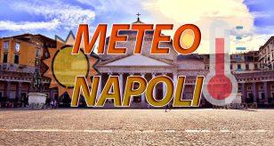 Grafica per le previsioni meteo di Napoli