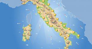 Previsioni meteo in Italia per domani 1 giugno 2021