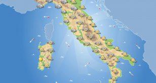 Previsioni meteo in Italia per domani 2 giugno 2021