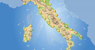 Previsioni meteo in Italia per domani 3 giugno 2021
