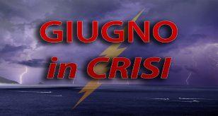 Mese di giugno in crisi, con una partenza decisamente faticosa e senza picchi di caldo - Centro Meteo Italiano