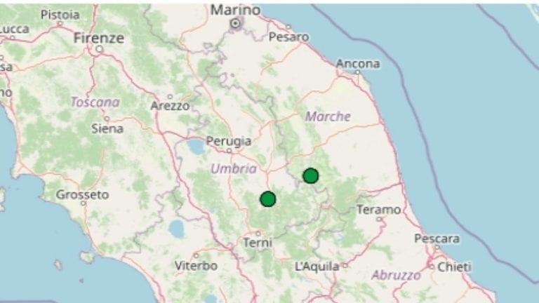 Terremoto nelle Marche oggi, 5 giugno 2021, scossa M 2.1 in provincia di Macerata | Dati Ingv