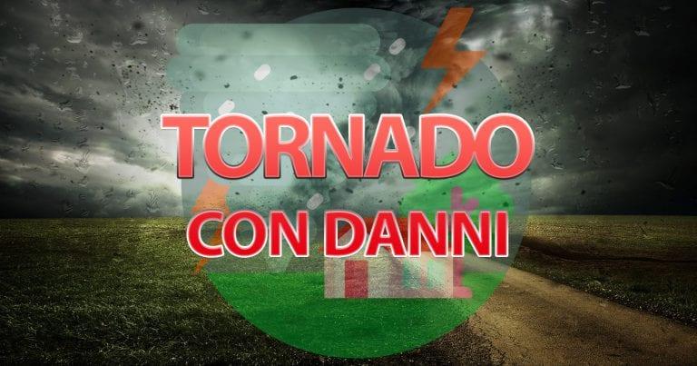 METEO – Tornado si abbatte sul LAZIO, danni nella provincia di VITERBO ecco DOVE