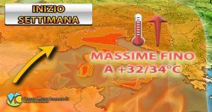 Esplode l'estate per l'inizio della prossima settimana con caldo diffuso - Centro Meteo Italiano