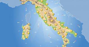 Previsioni meteo in Italia per domani 15 giugno 2021