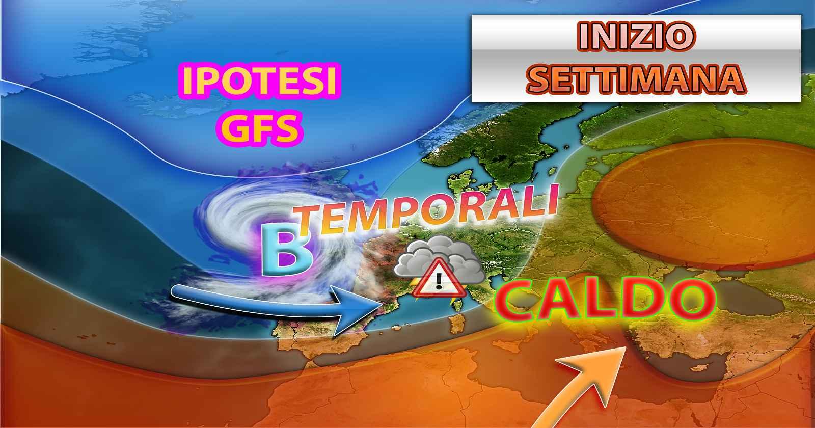 Previsioni meteo: picco del caldo nel weekend, a seguire temporali