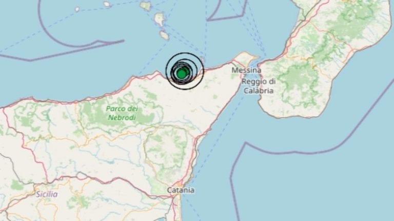 Terremoto in Sicilia oggi, 16 giugno 2021: scossa M 3.1 avvertita in provincia di Messina   Dati INGV