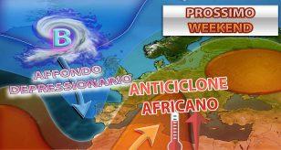 METEO - SUPER CALDO AFRICANO in arrivo nel WEEKEND con TEMPERATURE anche oltre i +40°C, i dettagli