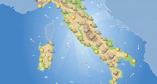 Previsioni meteo in Italia per domani 18 giugno 2021