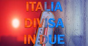 Italia divisa in due per la prossima settimana? Ecco la tendenza meteo