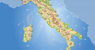 Previsioni meteo in Italia per domani 19 giugno 2021