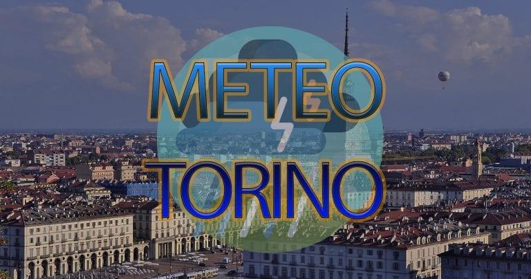 METEO TORINO – TEMPORALI e PIOGGE in arrivo con rischio NUBIFRAGI; le previsioni
