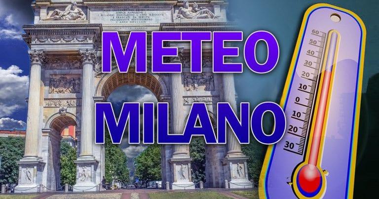 METEO MILANO – Fine SETTEMBRE nel complesso STABILE, con ancora qualche TEMPORALE oggi