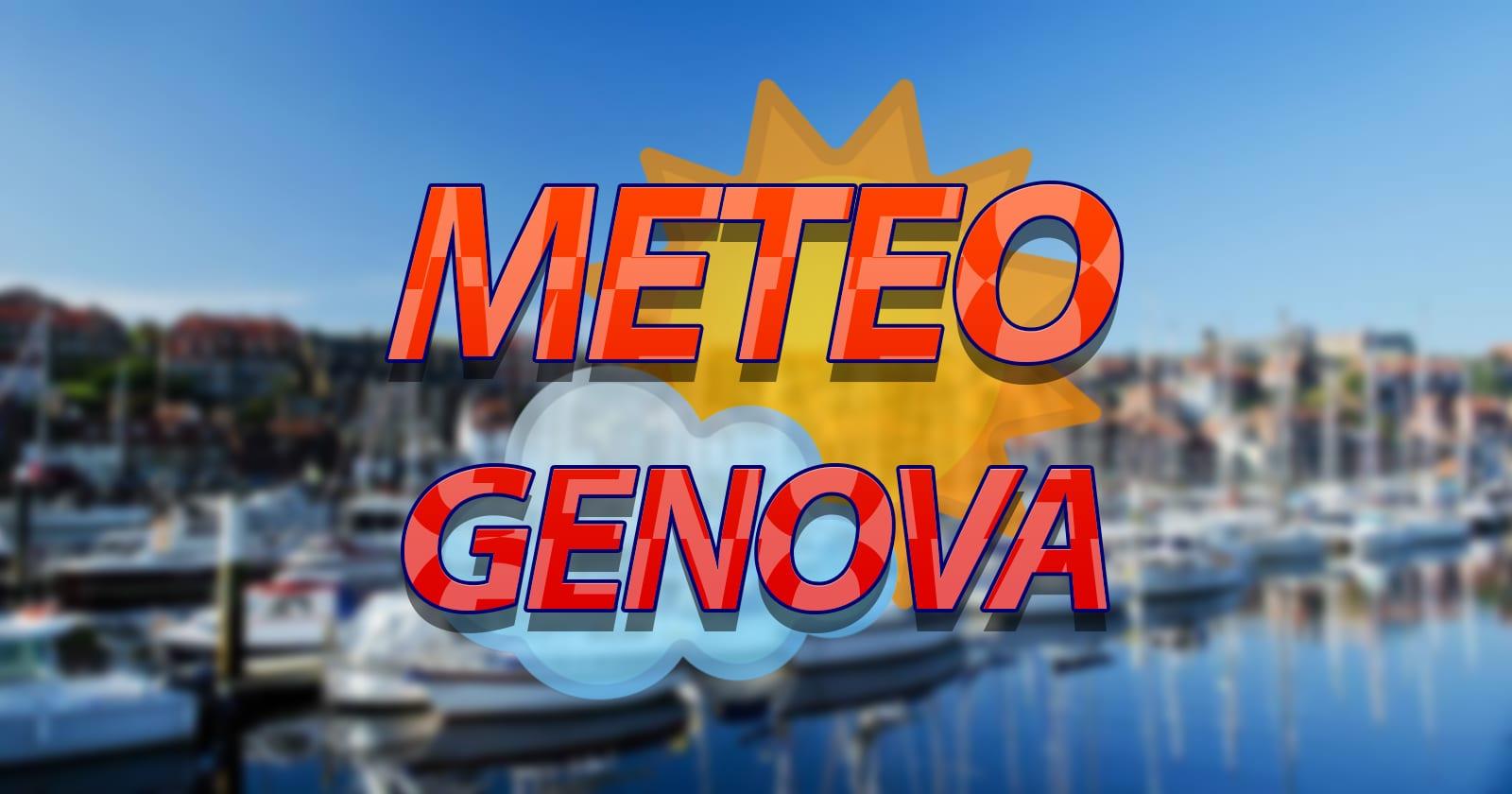 METEO GENOVA – ANTICICLONE AFRICANO in azione, tanto SOLE e TEMPERATURE in  aumento, le previsioni
