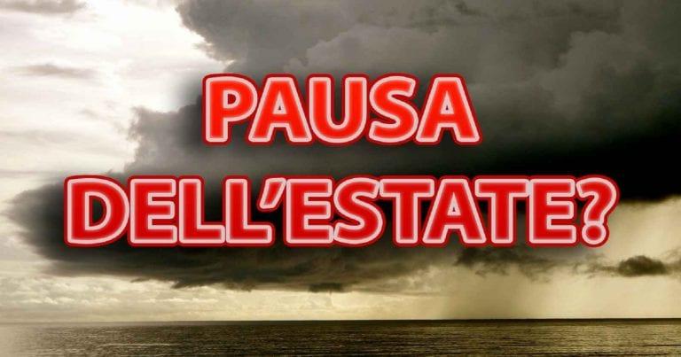 METEO ITALIA: acquazzoni e temporali in arrivo con la goccia fredda del weekend