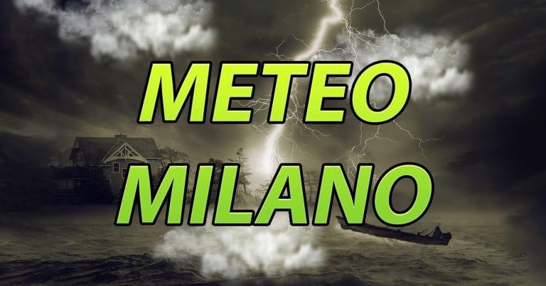 METEO MILANO – MALTEMPO in arrivo sulla LOMBARDIA, con rischio NUBIFRAGI anche sul capoluogo