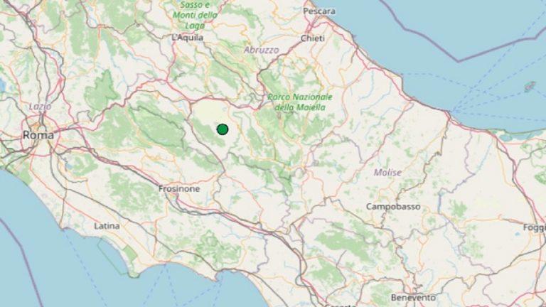 Terremoto in Abruzzo oggi, martedì 13 luglio 2021: scossa M 2.0 in provincia de L'Aquila | Dati INGV