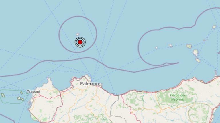 Terremoto in Sicilia oggi, 15 luglio 2021, scossa M. 2.3 sul Tirreno Meridionale – Dati Ingv