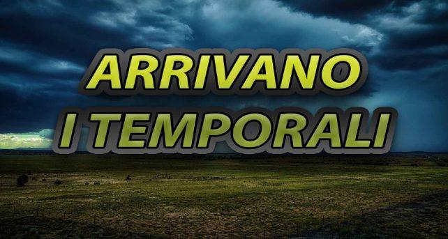 Meteo: piogge e temporali in Italia nelle prossime ore