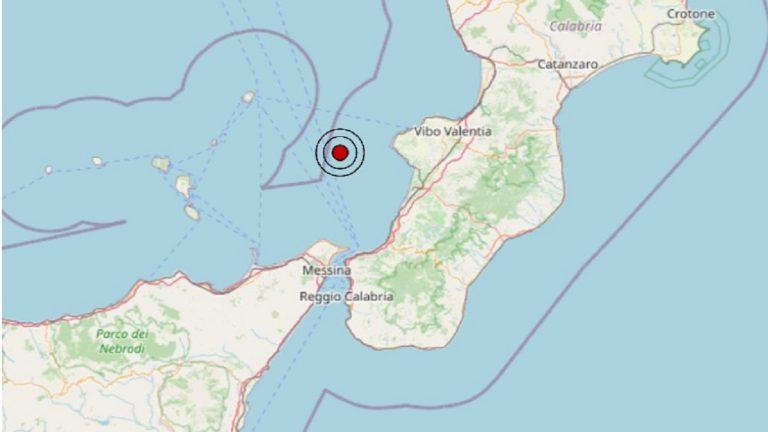 Terremoto in Calabria oggi, domenica 18 luglio 2021: scossa M 2.8 sul Tirreno Meridionale – Dati INGV