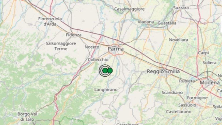 Terremoto in Emilia-Romagna oggi, mercoledì 21 luglio 2021: scossa M 2.3 in provincia di Parma | Dati INGV