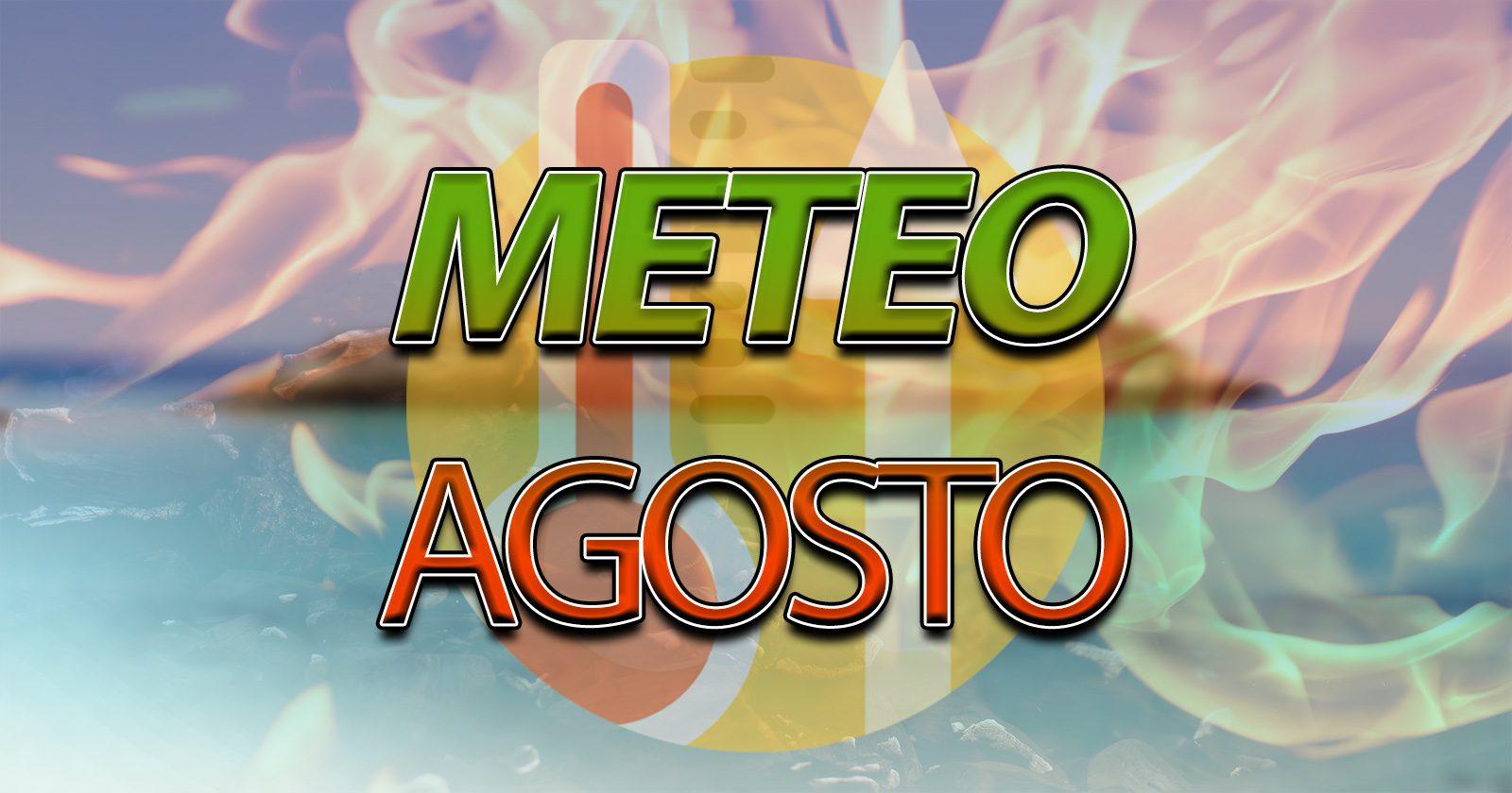 Tendenza meteo per il mese di agosto - Centro Meteo Italiano