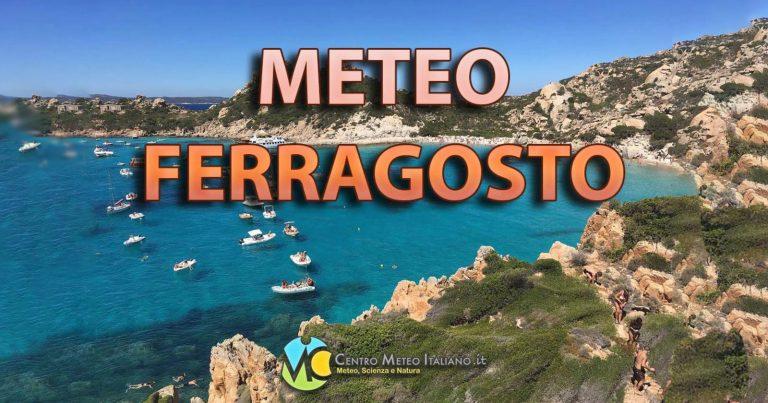 METEO FERRAGOSTO – Festività dell'ESTATE che potrebbe essere compromessa da una PERTURBAZIONE