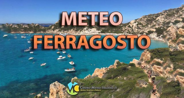 Tendenza meteo per Ferragosto 2021 - Centro Meteo italiano