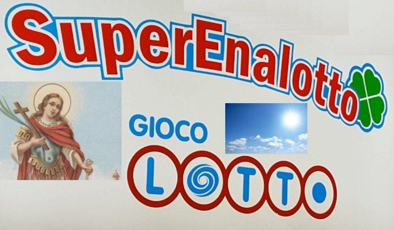 Lotto e Superenalotto, estrazioni di oggi, sabato 31 luglio 2021: risultati e numeri vincenti   Meteo e almanacco del giorno