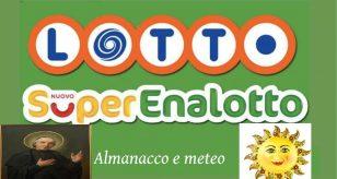Lotto e Superenalotto 9 SETTEMBRE 2021