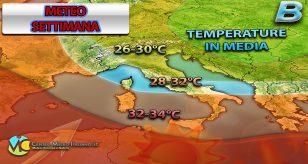 Ancora caldo estivo al sud Italia ecco la tendenza per la settimana - Centro Meteo Italiano