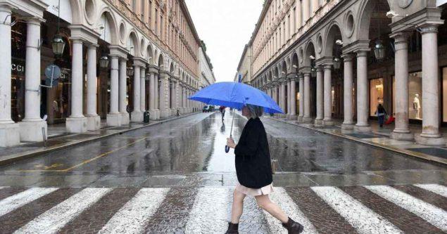 METEO TORINO - Giornata di MALTEMPO in città, segue miglioramento ma con irregolare NUVOLOSITA', le previsioni